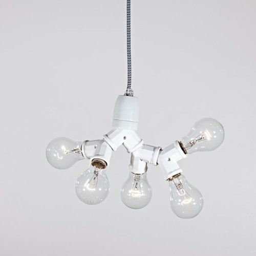 Taklampa No 5 - Bergman lights via Betonggruvan. Click on the image to see more!