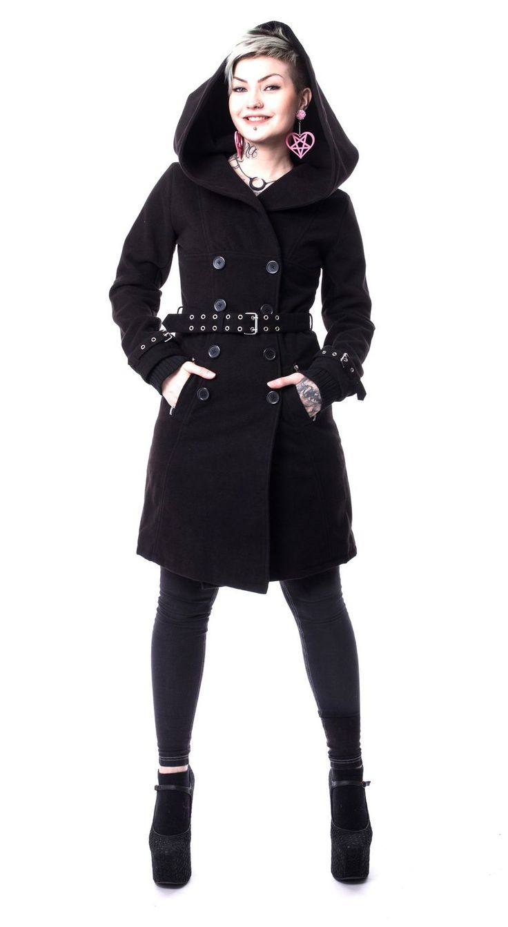 Decay - Manteau Rock Gothic romantique femme - Vixxsin