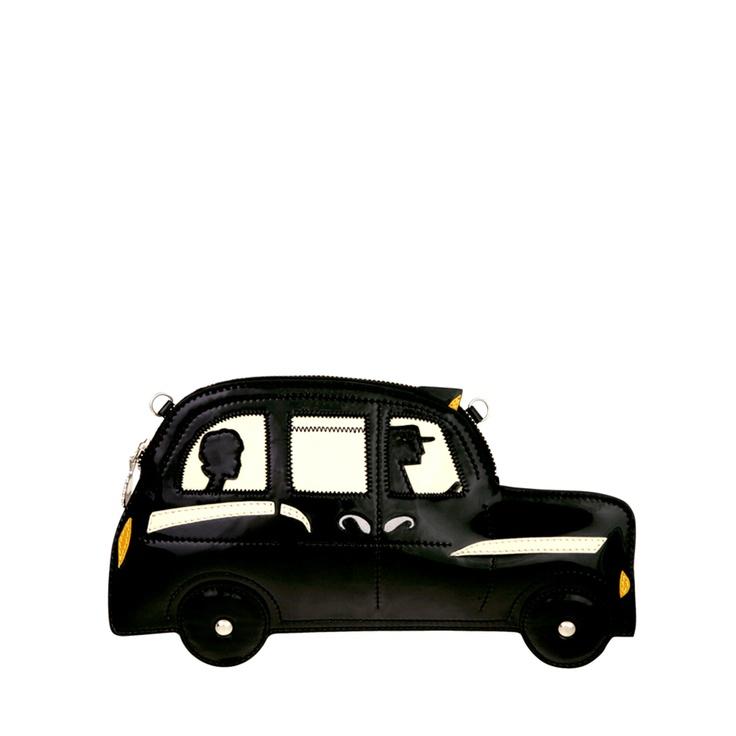 London Taxi Clutch   Clutches   Designer Bags   Lulu Guinness