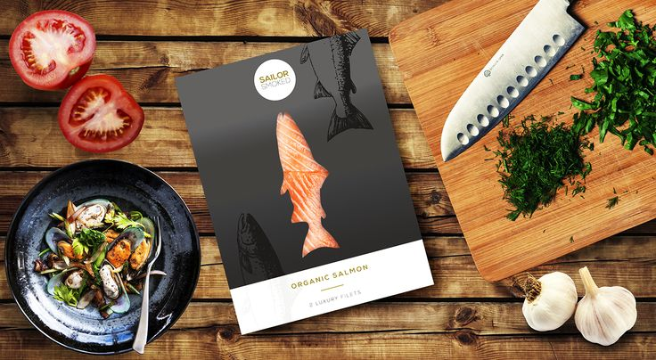 Packaging design for salmon