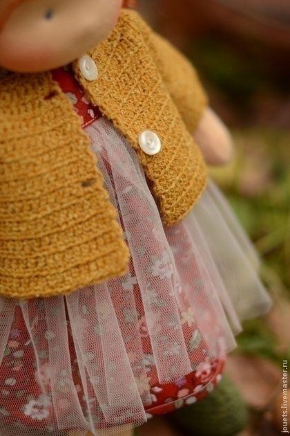 Купить или заказать Белочка, 36см в интернет-магазине на Ярмарке Мастеров. Кукольная девочка Белочка. Единственный экземпляр. Экологичная детская игровая кукла. Предназначена для девочек от 3-х лет. Может быть подарком и для взрослых барышень)) Сшита из швейцарского хлопкового эко-трикотажа. Наполнена тёплой и чистой овечьей шерстью ручной промывки. Волосы - кид мохер (шерсть малышей мохеровой овцы) производства Южной Африки.