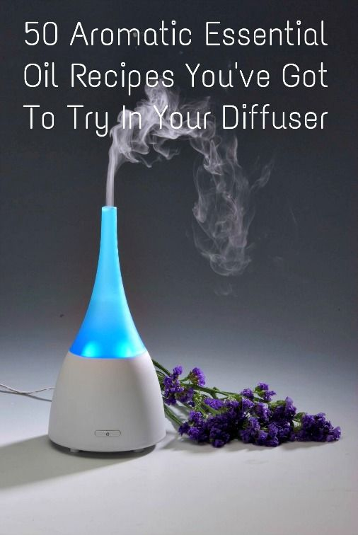 50 Aromatic Essential Oil Recipes You've Got To Try In Your Diffuser!