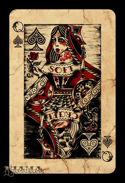 Queen of Spades by ~Ljama on deviantART