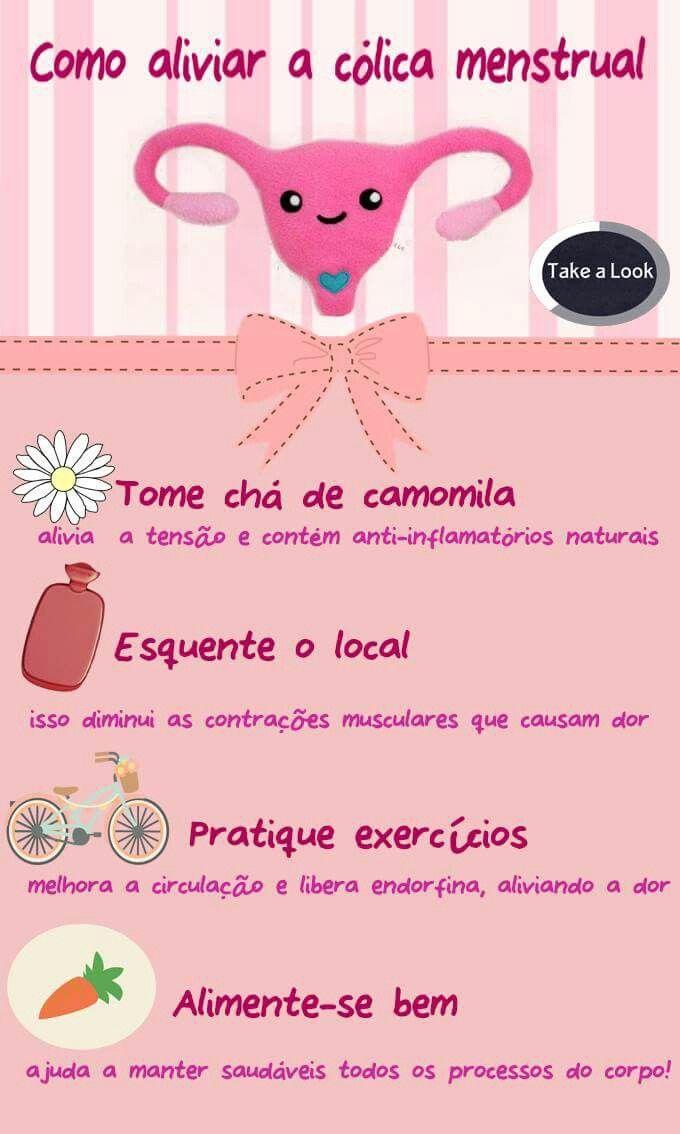 Dicas para aliviar a Cólica Menstrual!  #menstrualcupsbrasil