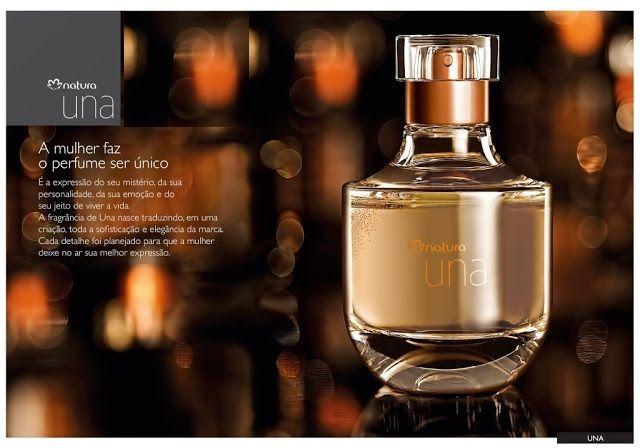 Deo Parfum Una traduz toda a sofisticação e elegância no jeito de ser e agir.