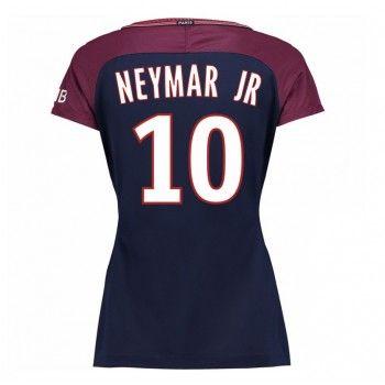 PSG Neymar Jr 10 kläder Kvinnor 17-18 Hemmatröja Kortärmad  #Billiga #fotbollströjor