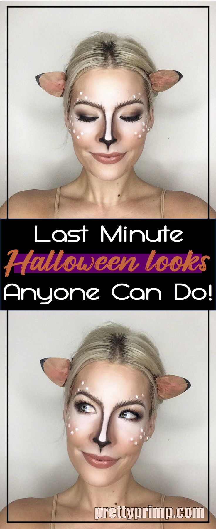 Easy DIY Halloween Makeup Ideas that will Save You Time and Money! Check out this list for creepy, pretty, and cute ideas!