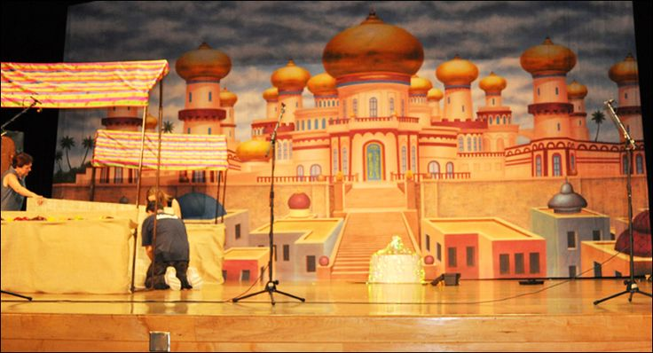 Aladdin Sets Designs | Set Design