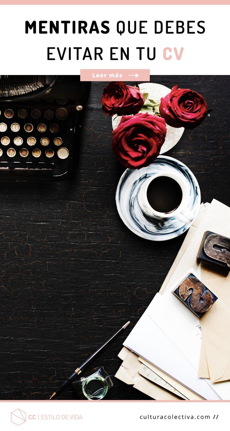 12 besten Crea o mejorar tu Curriculum Vitae Bilder auf Pinterest