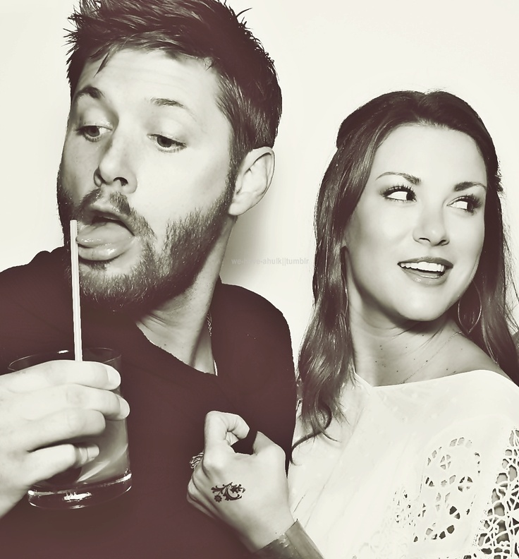 Jensen Ackles ft. wife...