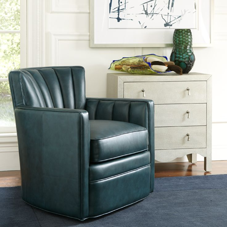 Stewart Swivel Accent Chair, Office Furniture, 2015 CORT Signature  Collection