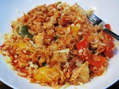 Syn Free One Pot Cajun Chicken & Rice Bake - Slimming World - Recipe - Recipes - Dinner - Easy - Simple - Video - Recipe