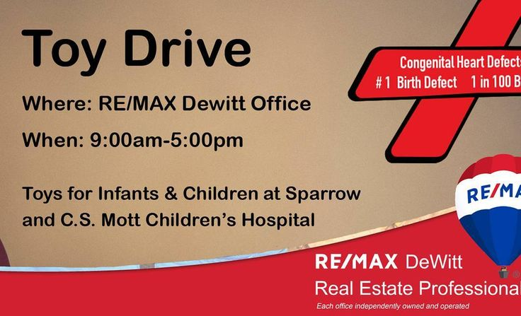 Holiday Toy Drive!! Drop off toys at RE/MAX Dewitt Office 9-5pm Monday-Friday. Toys will be delivered to infants and children at Sparrow and C.S. Mott Children's Hospital. #lovelansing #michiganstate #puremichigan #lansing #michigan #igersmichigan #dewittmi #okemos #greaterlansing #lansingmichigan #lansingmi #grandledge #eastlansing #igerslansing #michiganders #Michiganstateuniversity #michigrammers #jacksonmi #igersmidwest #homesforsale #realty #realestate #remaxdewitt #grandhaven…