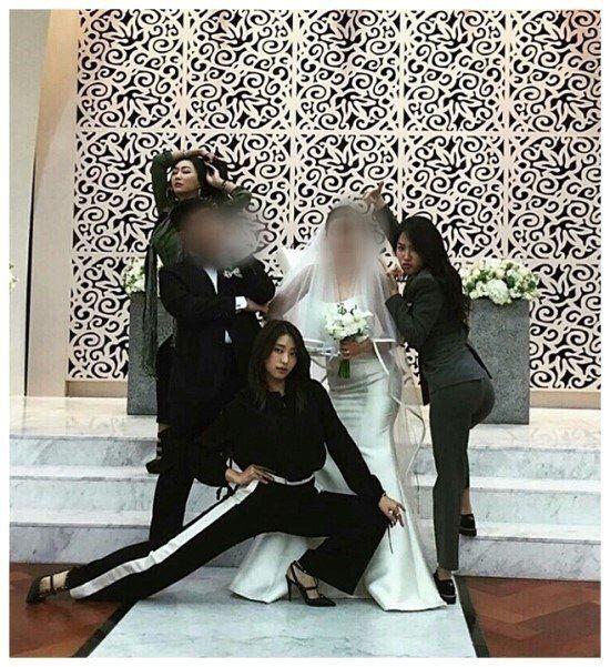 SISTAR members steal the spotlight at staff members wedding | allkpop.com