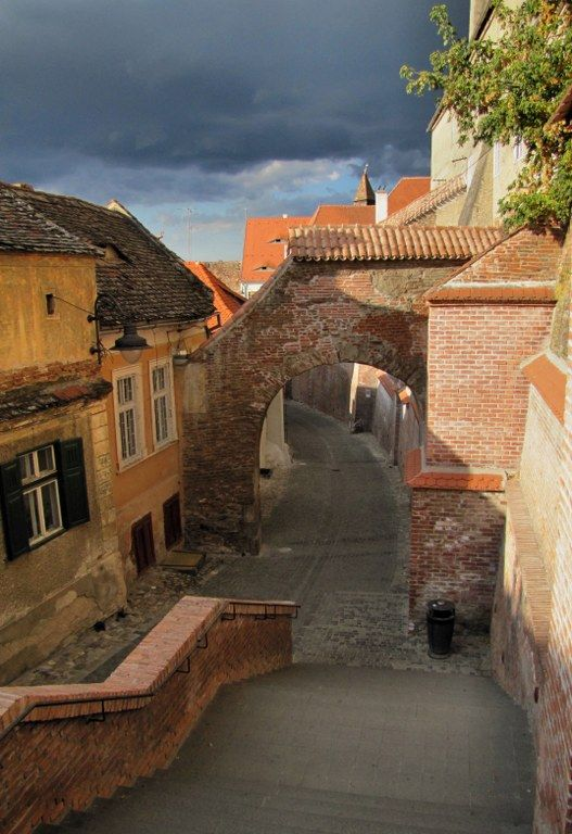From the Upper town to the Lower town, Sibiu, Romania. romaniasfriends.com