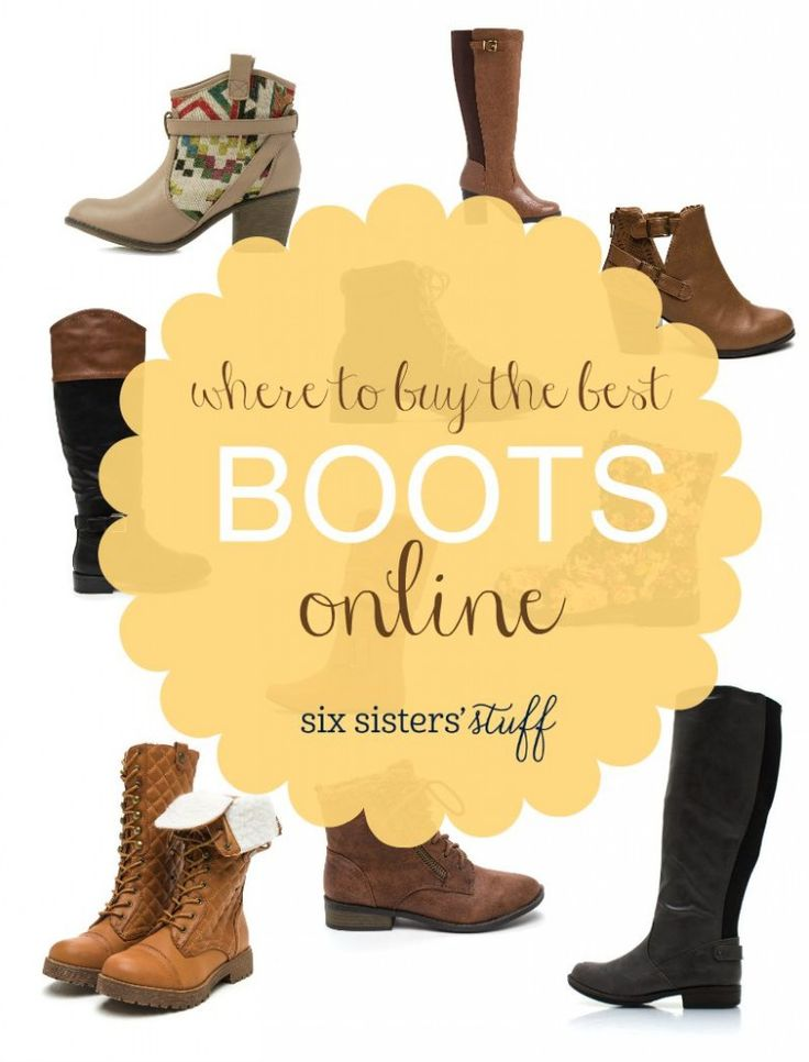 Where to buy the best boots online!