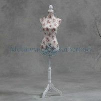DECORATIVE CREAM WITH ROSE DETAIL MANNEQUIN, from McGowan and Rutherford Size (H x W x D cm): 168x38x25cm, €95 #mannequin #interiordesign #Design Call and secure over the phone: 01-4966851 or on www.rugstorhinos.com