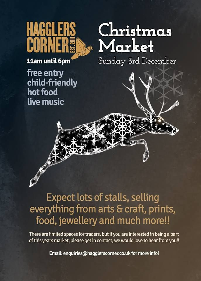 Christmas Market artwork and design y Engine Head Studio.