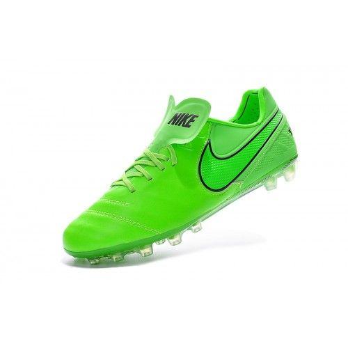 Nike Tiempo - Chuteira Society Nike Tiempo Legend VI AG Homens Verde Desconto