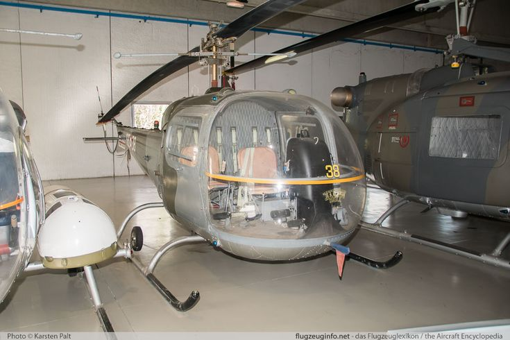 Agusta-Bell AB-47J Ranger Italian Air Force (Aeronautica Militare) MM80187 1100 Museo Aeronautica Militare Bracciano, Vigna di Valle 2016-02-18 � Karsten Palt, ID 12173