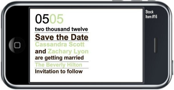 Save the Date   Text message save the date  $4.99 USD