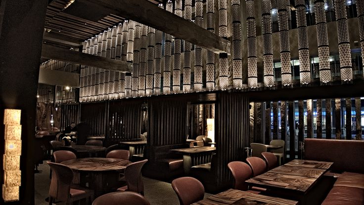 Restaurant quot zuma ny in u s a interior design by glitt
