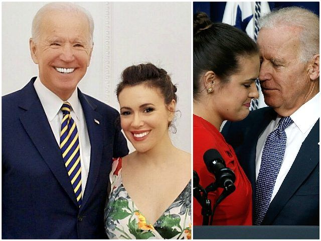 Metoo Leader Alyssa Milano Proud To Call Joe Biden A Friend
