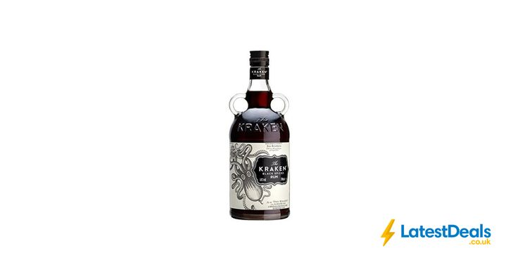 Kraken Black Spiced Rum, 70 Cl Free Delivery, £20.50 at Amazon UK