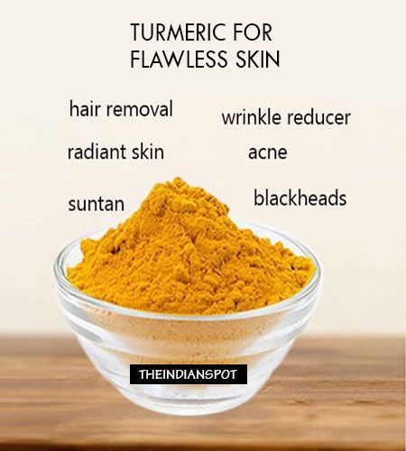 Turmeric- is popular as the golden spice of life. Turmeric is a spice that has several benefits that includes health as well as beauty. Turmeric adds an excellent flavor to all the dishes and it is known to endow glowing skin to all those who use it regularly. Turmeric can be used for several beauty