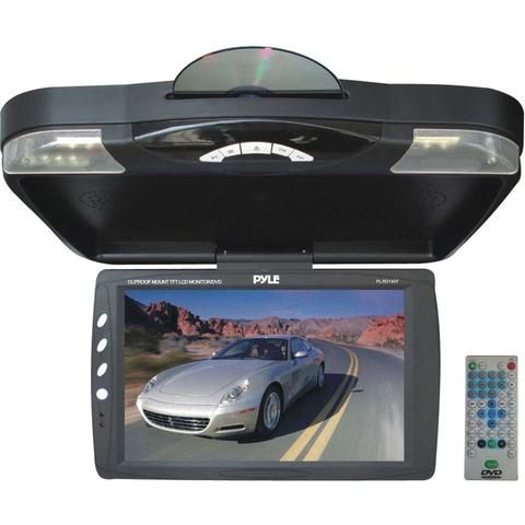 "Pyle 13.3"" Ceiling-mount Lcd Monitor With Dvd Player & Ir Transmitter"