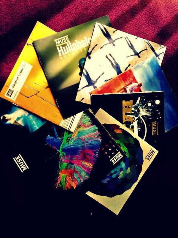 Muse CDs - I have all except Hullabaloo!