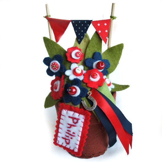 Cool Gifts For Guys, Flowers For Men, Lucky Charm Football Flowers, Unique  Best Man Gift, Man Cave Decor, Gifts For Gardeners