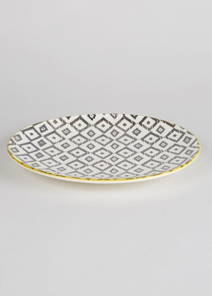 Tribal Dinner Plate (27cm)