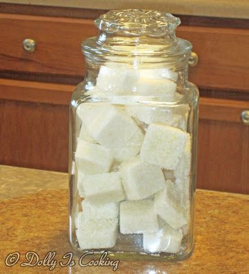 Homemade Dishwasher Powder Tabs