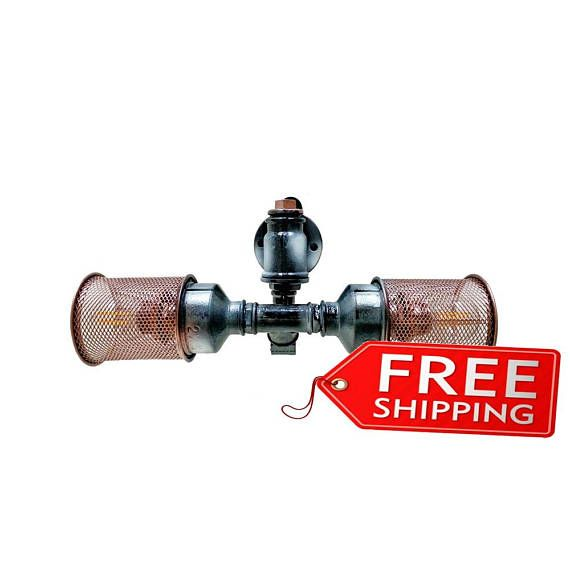 Pipe wall light Sconces loft Lighting Industrial sconce lighting Vintage sconces Wall lamp light Bedroom wall sconces Wall lights modern wall lights industrial style