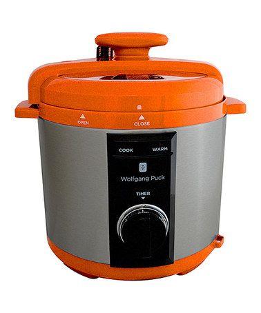 Look at this #zulilyfind! Orange 8-Qt. Rapid Pressure Cooker by Wolfgang Puck #zulilyfinds