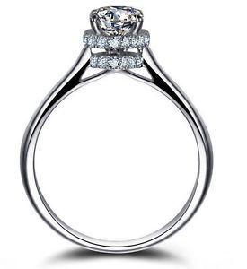 925 SS 0 6ct Topaz Promise Engagement Ring Retail 136 95 Sale $60 00 | eBay