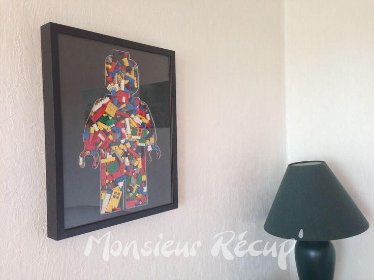 Bonhomme LEGO - créé par Monsieur Récup