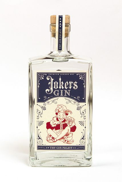 Let's share a laugh....Joker's Gin PD