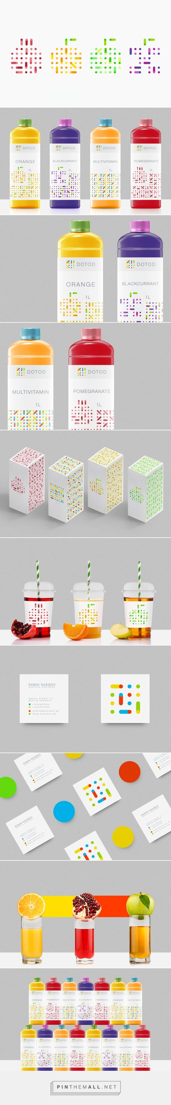 DOTOD /  DOTOD is a new brand of fruit juices from Munich, Germany / Ramin Nasibov