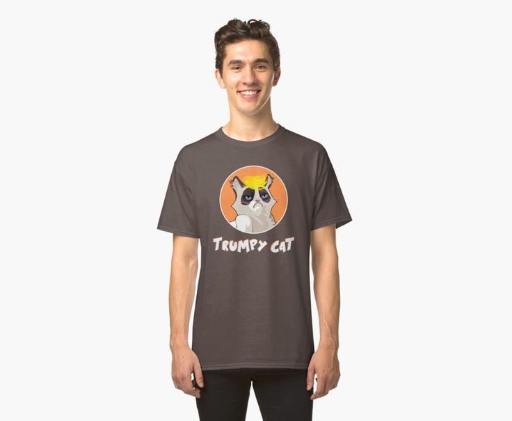 Trumpy Cat trump kitty blond pony funny joke trump orange