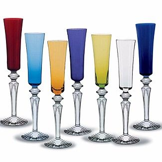 "Baccarat ""Mille Nuits"" Flutes 
