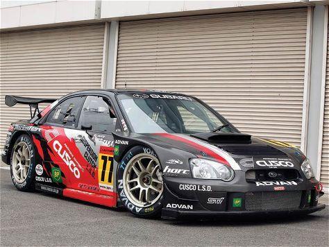 Subaru Impreza STi race car - GT300 - Cusco