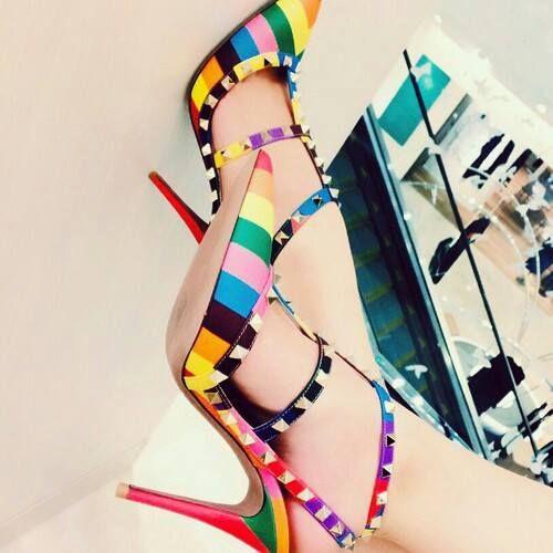Sapato arco íris deuso