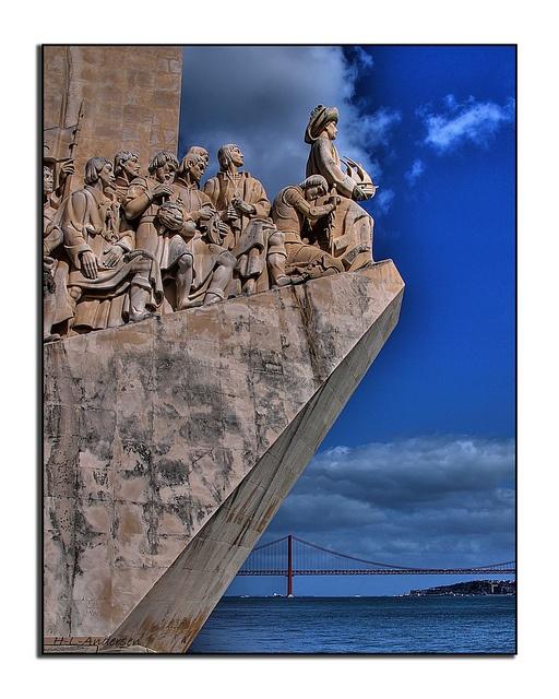 Lisbon - Padrão dos Descobrimentos - Monument to the portuguese discoveries by sea