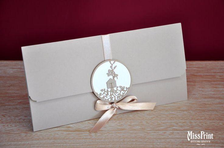 Matrimonio.it | Un'idea per una #partecipazione originale by Partecipazioni Anzio - MissPrint Officina Grafica
