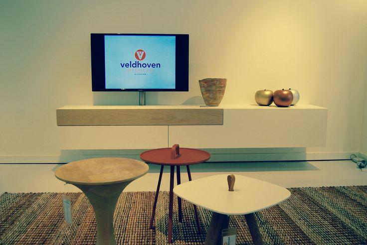 Een tv-meubel van Castelijn in onze showroom.