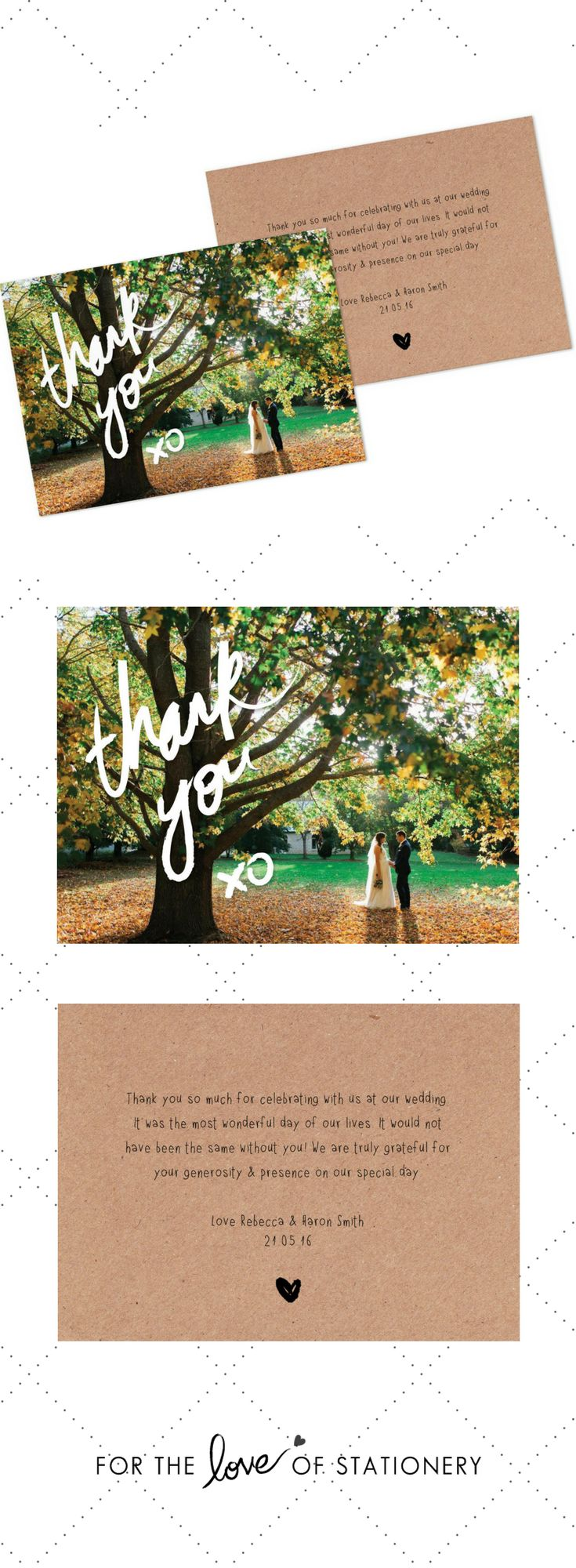 wedding thank you card template thank you card to print template