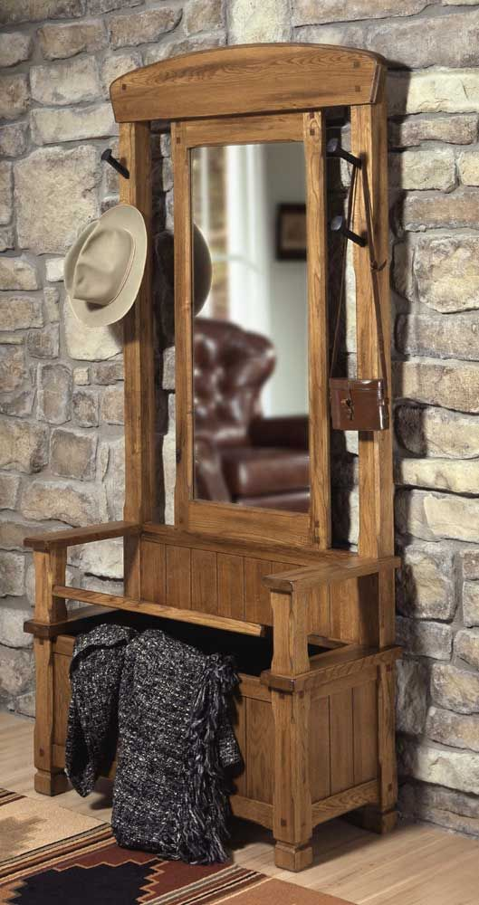 Antique Coat Rack With Bench Woodworking Projects Amp Plans