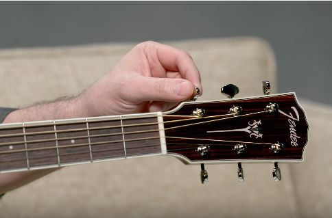 Acoustic sounding a bit out of tune? Here we offer a few different ways to tune your instrument using on-line tools from Fender.com, our Fender Tune app available for iPhone and Android, as well as other classic methods. Visit our website for more info: http://bit.ly/2kd9uaQ